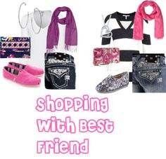 """""""Shopping with Bestie"""" by laz2 on Polyvore"""