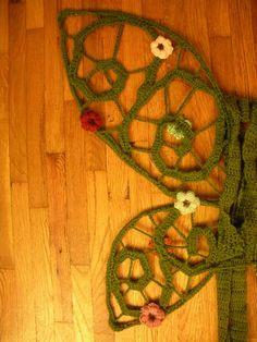 crocheted fairy wings tutorial