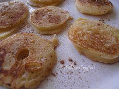 Blog Sabine Seyffert: Süße Apfelringe mit reichlich Zimt und Zucker