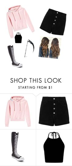 """""""Wakfu Sierra outfit one"""" by lizzie12304 on Polyvore featuring Vetements, rag & bone/JEAN and Converse"""