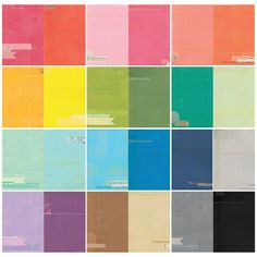 Color Theory 12x12 Paper Pack  at @studio_calico All the colors of the rainbow, oh, oh..