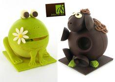 Collections chocolats de Pâques des chocolatiers lyonnais / Lyon.