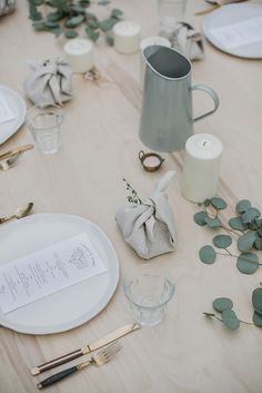 menu design by tara hurst kinfolk l'esprit de la mer dinner {local milk}