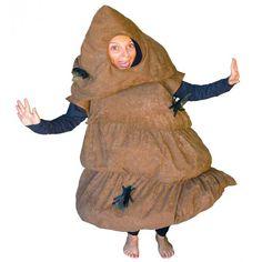 DisfracesMimo, disfraz de caca para adulto talla m/l. Este traje es cachondo y original disfraz perfecto para dar un toque cómico en cualquier fiesta e ideal en despedidas de soltero o soltera. Fabricacion nacional