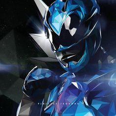 """101 curtidas, 5 comentários - Vinícius Teodoro (@vini_teodoro) no Instagram: """"Semana @powerrangersoficial  Dia 03 - Ranger Azul/Blue Ranger  #Billy @rj_cyler @powerrangersmovie…"""""""