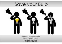 Smoking is injurious to health #Bforbulb