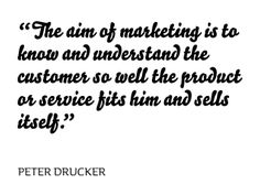 Peter Drucker, Business Management Consultant