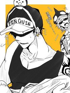 Penguin || Sachi || One Piece One Piece Ship, One Piece Comic, One Piece Fanart, One Piece Manga, Me Me Me Anime, Anime Love, Anime Guys, Zoro, Ace Sabo Luffy