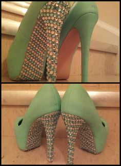 A Natalie McDonald DIY Shoe Bling Creation!