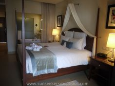 Beautiful rooms at adult all inclusive Secrets St. James, Montego Bay
