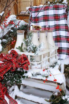 Aiken House & Gardens: and Winter Came...