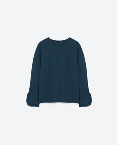 Image 8 of FRILL DETAIL TOP from Zara