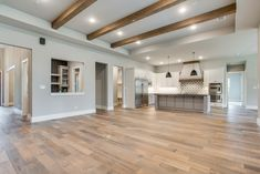 Love the color love the size. Even the flat ceiling is not bad. Love the color love the size. Even the flat ceiling is not bad. Cheap Ceiling Ideas, Ceiling Beams, Beam Ceilings, Ceiling Fan, Rustic Lake Houses, Ceiling Design, Ceiling Color, Home Living Room, Great Rooms