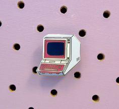 Computer Error enamel pin