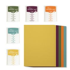 2014-2016 In Color A4 Cardstock & Classic Stampin' Pads Kit - by Stampin' Up!
