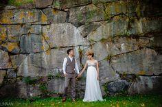 Häät, hääkuva, hääpotretti. Weddings, portrait. Harri Rauhanummi, Linnan Juhlakuva