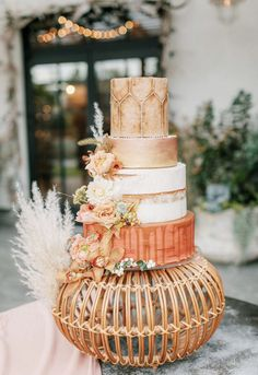 boho wedding cakes Moroccan Pouf inspired wedding cake by Nutmeg Cake Design - Philadelphia Moroccan Wedding Theme, Boho Wedding, Floral Wedding, Dream Wedding, Purple Wedding, Wedding Dress, Black Wedding Cakes, Beautiful Wedding Cakes, Wedding Cake Designs