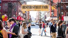 From Madison Square Eats to Smorgasburg, head to one of these NYC street fairs for vintage clothing, cheap food, handmade gifts and live music
