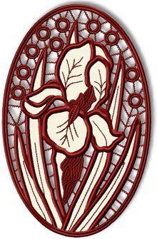 Advanced Embroidery Designs - Daisy Cutwork Lace