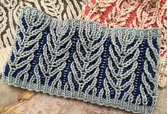 Ravelry: Your first two color Brioche pattern by Chiaki Hayashi
