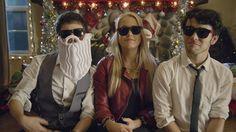 """""""Jingle Bell Rock"""" - Max Schneider Kurt Schneider & Macy Kate /love this video!!"""