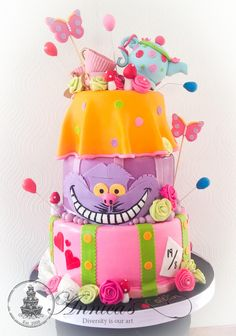 Mad Hatter cake by Annica's