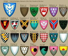 Leisure ilergeta: Houses of Westeros vasallas