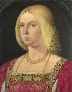 Portrait of a Lady about 1510-20, Italian, Venetian