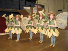 R. John Wright Dolls - Production  primrose Fairies are ready for flight!