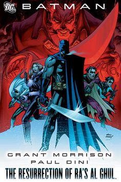 Number 59 (owned) Batman: The Resurrection of Ra's al Ghul Batman Annual Robin (vol. Annual Nightwing Detective Comics May 2008 League Of Assassins, Grant Morrison, Liam Neeson, Nightwing, Comic Book Covers, Comic Books, Batman Free, Batman Book, Paul Dini