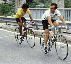 Phil Anderson, Caballero Andante, Bottom Bracket, Victoria, Carbon Fiber, Peugeot, Cycling, Bicycle, 1984