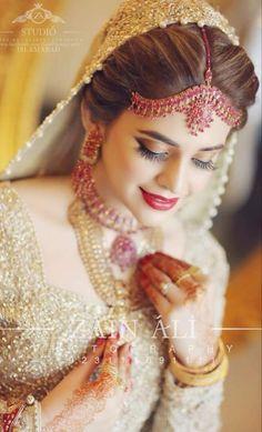 #Sara Wedding Girl, Wedding Bride, Bridal Dresses, Hairstyle, Happiness, Jewellery, Makeup, Colors, Bride Dresses