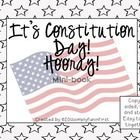 Looking for an age-appropriate Constitution Day activity?  This mini-book tells about Constitution Day in simple terms for younger students. (grades 1-3) $