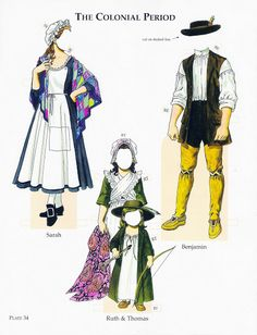 colonial period - edprint2000paperdolls - Picasa Webalbum* 1500 free paper dolls at Arielle Gabriels The International Paper Doll Society and also free Asian paper dolls at The China Adventures of Arielle Gabriel *