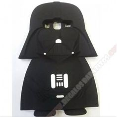 Carcasa 3D Galaxy J5 Darth Vader muñeco silicona