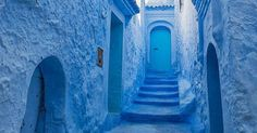 Just Pinned to Blue: Chefchaouen Morocco Visit our website for more articles pictures and also product check it out http://ift.tt/1FK3kAN More http://ift.tt/2nWl2o8