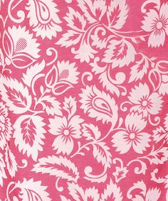 Take a look at this Fuchsia & Pink Burnout Curtain Panel by Karma Living on #zulily today!