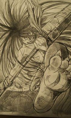 Twitter Ushio To Tora, Game Art, Anime, Geek Stuff, Manga, Twitter, Slip On, Drawings, Geek Things