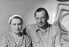 Aino and Alvar Aalto Alvar Aalto, All In One, Take That, Two Heads, Minimalist Furniture, Influential People, Reference Images, Husband Wife, Famous Faces