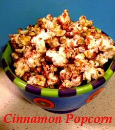 My first every #HowTo #DIY blog post!  #Cinnamon #Popcorn #snack