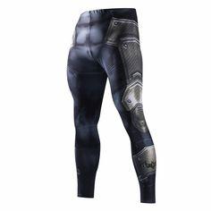 Pantalons De Compression Hommes De Mode Leggings  3D Fitness, de haute qualité.
