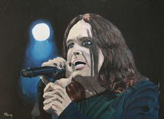 Ozzy Osbourne by raVen-MacKay on DeviantArt Ozzy Osbourne, Acrylic Painting Canvas, Raven, My Arts, Deviantart, Pictures, Fictional Characters, Photos, Ravens