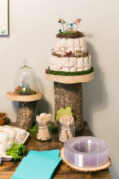 woodland themed baby shower 2 the little umbrella