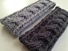 With Love by Jenni: Crochet Cable Ear Warmer Pattern Maybe something for https://Addgeeks.com ?