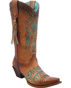 Corral Women's Dreamcatcher Cowgirl Boots - Snip Toe | Sheplers