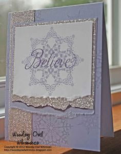 Woodsy Owl Whimsies Wisteria Wonder Snowflake Soiree and Tinted Glimmer Paper