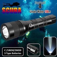 Tonelife TL3218 150M Depth 1000 Lumens Diving Flashlight Underwater Scuba Torch Submarine Light Scuba Safety Lights Dive Backup Light With Cree Led Rotary Switch (Torch+Tube+Lanyard) - http://scuba.megainfohouse.com/tonelife-tl3218-150m-depth-1000-lumens-diving-flashlight-underwater-scuba-torch-submarine-light-scuba-safety-lights-dive-backup-light-with-cree-led-rotary-switch-torchtubelanyard/