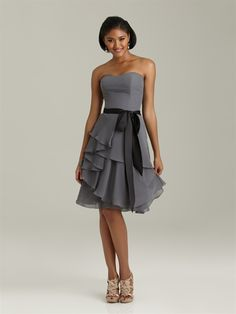 Not long but really cute! Satin Bridesmaid Dresses 900823f2bfd5