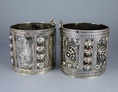 Syrian cuffs - ethnic jewels