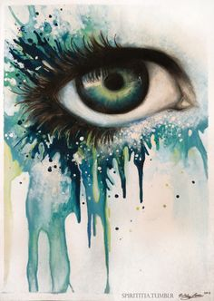 """""""Sirena"""" Watercolour, artwork by me."""